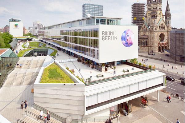 Referenzprojekt Bikini Haus in Berlin im städtbaulichen Zusammenhang