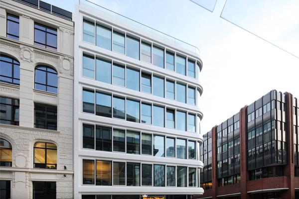 Baltic Haus in Hamburg, von der Deutschen Gesellschaft für nachhaltiges Bauen (DGNB) mit dem Vorzertifikat in Silber ausgezeichnet.