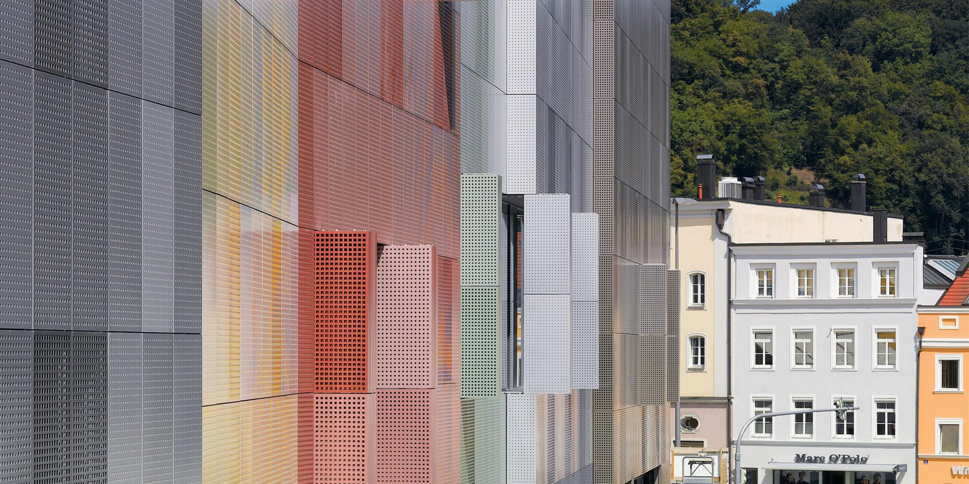 Detail der Stadtgalerie Passau von Auer und Weber.
