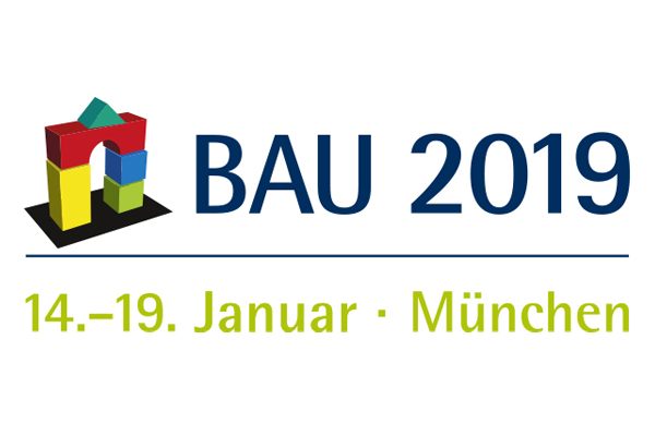 Die Weltleitmesse für Architektur, Materialien und Systeme BAU 2019 findet vom 14.-19. Januar in München statt.